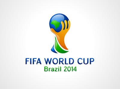 FIFA World Cup Brazil 2014 logo mockup