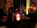 an acoustic jam ensues backstage