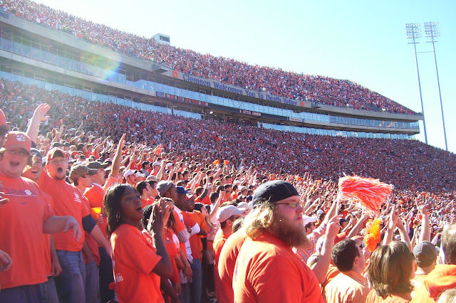 Small town saturday clemson sc this is my south in the south fall means football season and one small town that loves its football is clemson south carolina the town itself has around 13000 residents publicscrutiny Gallery