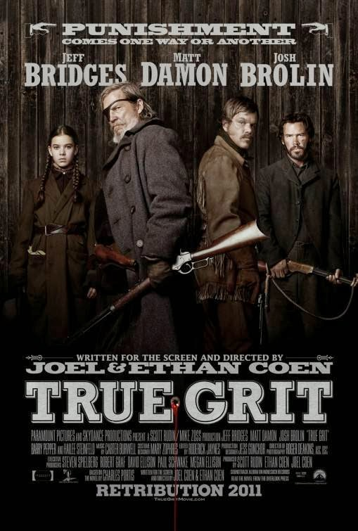 Poster Of True Grit (2010) Full Movie Hindi Dubbed Free Download Watch Online At Alldownloads4u.Com