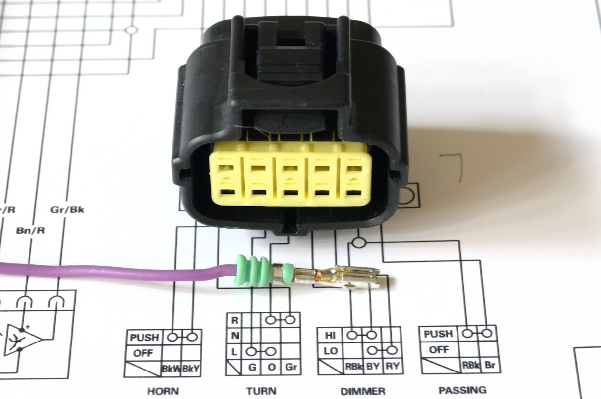 Wiring Harness Clip - Unlocking Pins