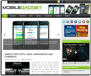 Mobile Gadgets Template