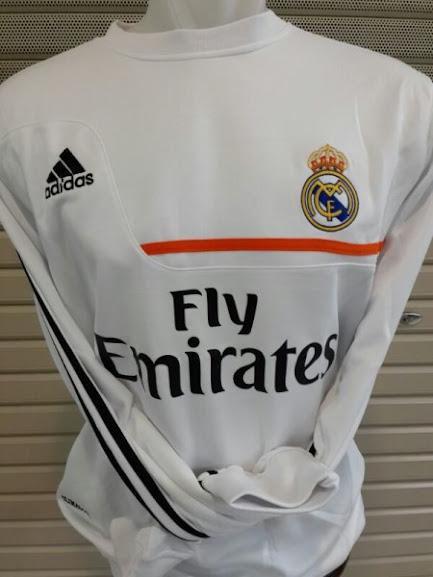 Sweater Real Madrid Putih Terbaru 2014