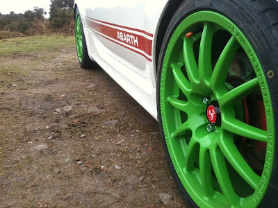 Fiat 500 Abarth Team Dynamics Wheel