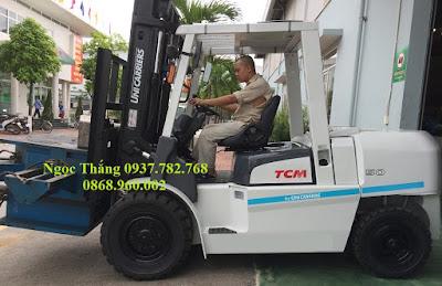 Xe nâng diesel TCM 5 tấn
