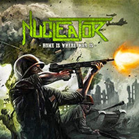 Nucleator - Home Is Where War Is recenzja okładka review cover