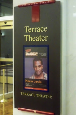 The hopeful traveler norm lewis at the kennedy center 39 s for Terrace theater movie times