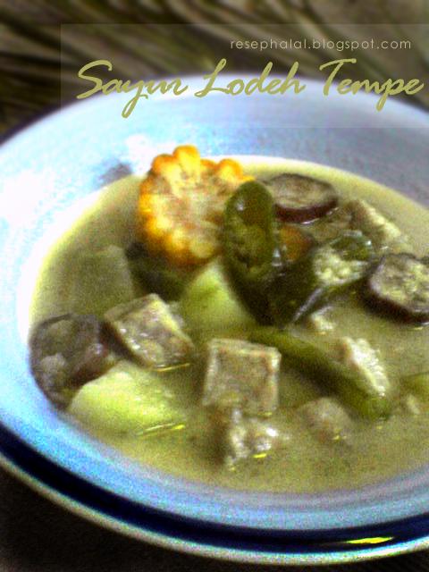 Resep Sayur Lodeh Jagung Manis