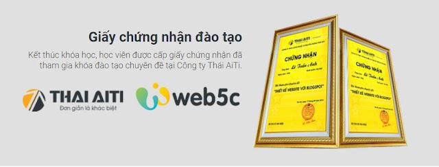 Đào tạo thiết kế Web blogspot cho kinh doanh Môi giới Bất Động Sản