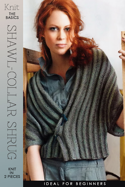 Knitting Patterns For Shrugs With Shawl Collar : DiaryofaCreativeFanatic