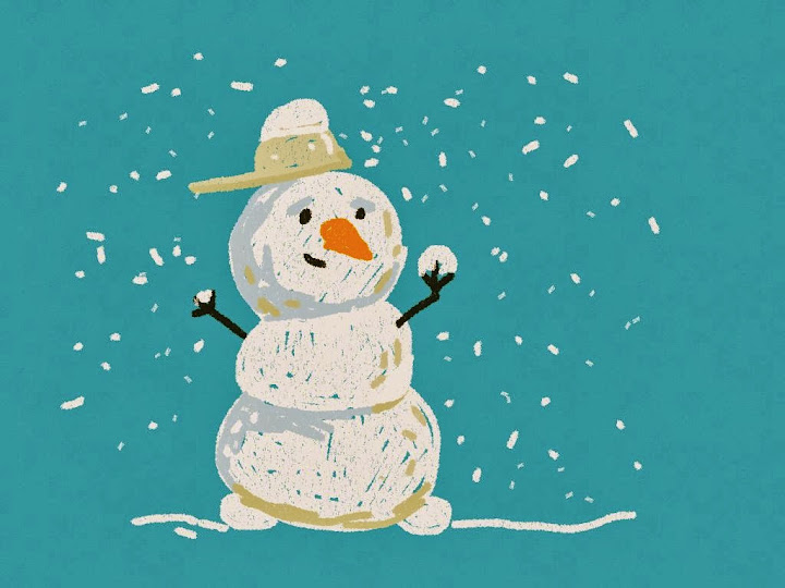 snowmen made with Sketches