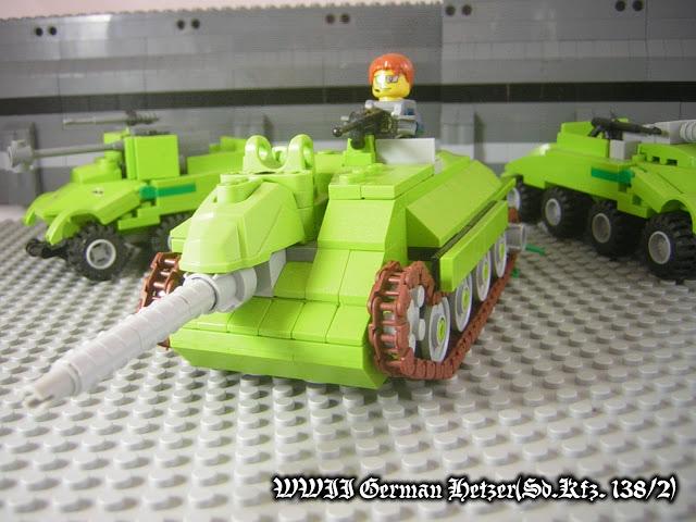 二戰德軍輕型驅逐戰車--追獵者Hetzer(Sd.Kfz. 138/2)