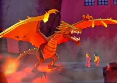 Lego Ninjago: Fire Dragon (Flame)