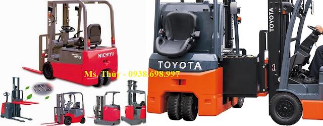 Bình điện xe nâng Toyota - Nichiyu