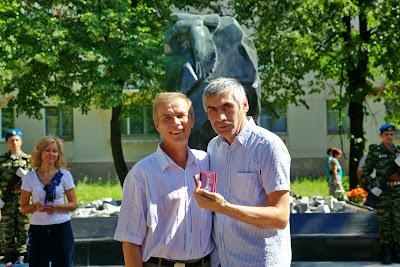 председатель Карагайской районной организации РСВА Николай Дурегин