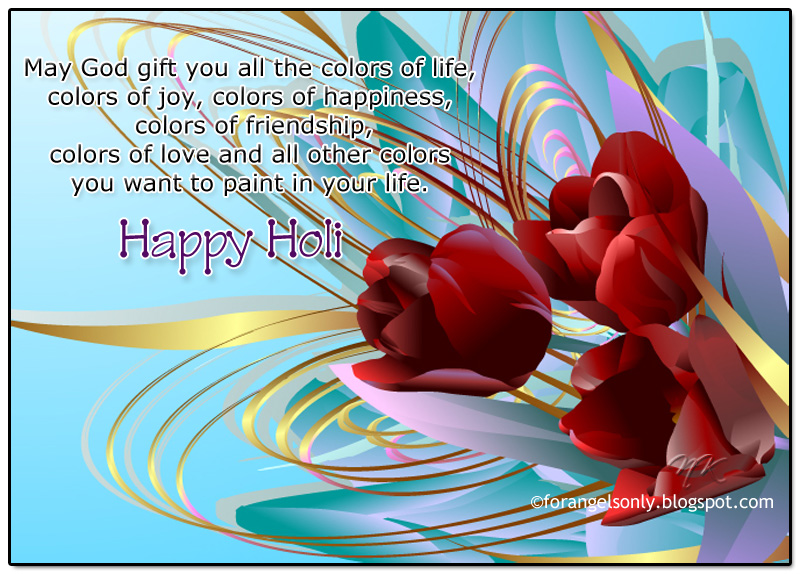 Latest Holi Wallpapers, Greetings and SMS,Holi Greetings