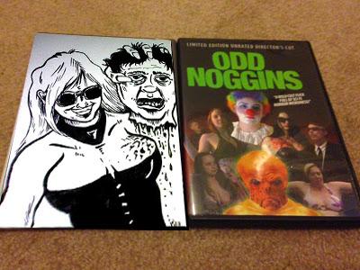 odd noggins midnite movie sci-fi horror weird b-movie boobs blood slime