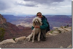 Joanne and Maeve at Grand Canyon