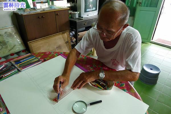 台西- 素人畫家吳友道 帶你進入古早與鄉村景色