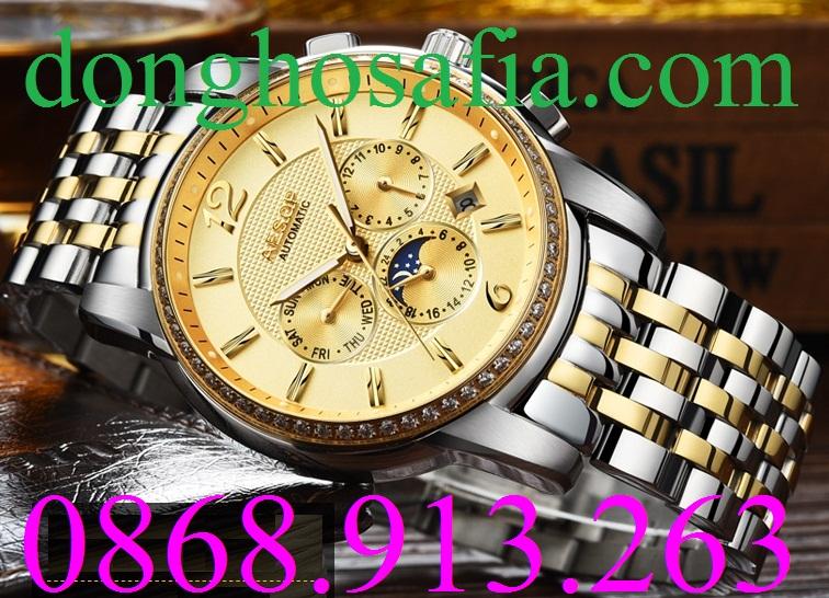 Đồng hồ nam Aesop 9017