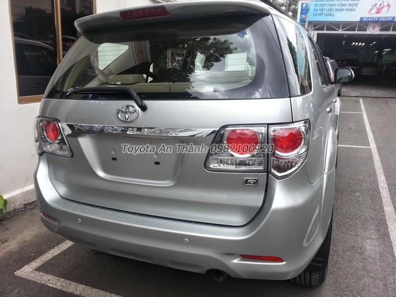 Khuyến Mãi Giá Xe Toyota Fortuner 2.5G 2015 Máy Dầu Số Sàn 5