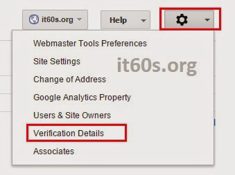 Cách xác minh Website Wordpress trong Webmaster tools 4