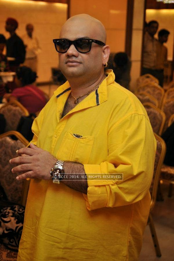 Samidh during the launch of Kolkata Diaries, held at Imperio.<br />