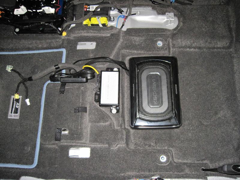 Kenwood Ksc-sw11 Subwoofer Installation Plus Kicker Speakers