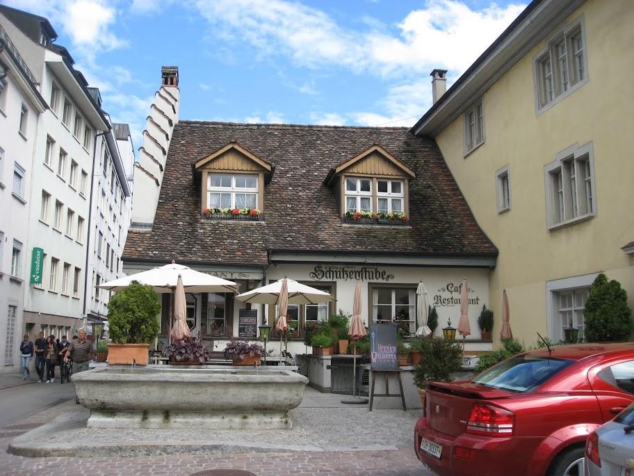 Две недели в Швейцарии в начале лета