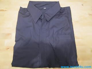 Shirt made from RF blocking fabric