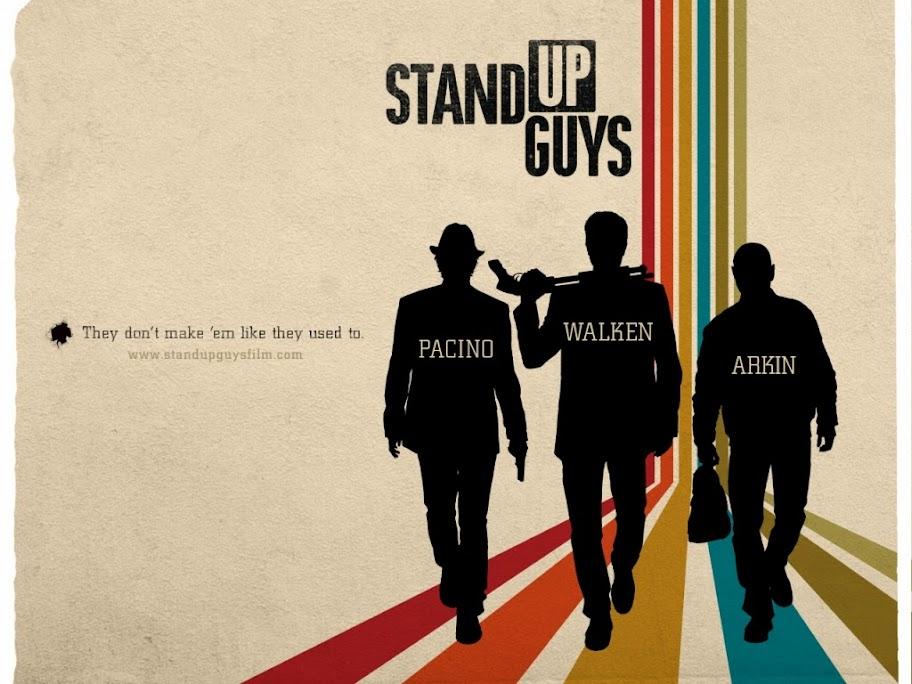 Stand Up Guys Νομοταγείς Τύποι Movie Wallpaper
