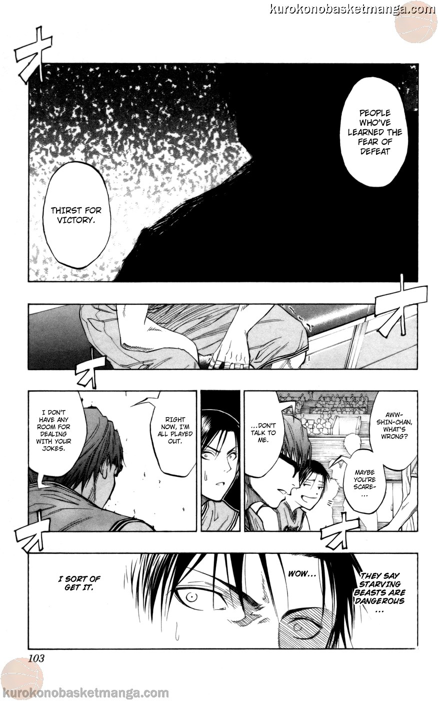 Kuroko no Basket Manga Chapter 85 - Image 17