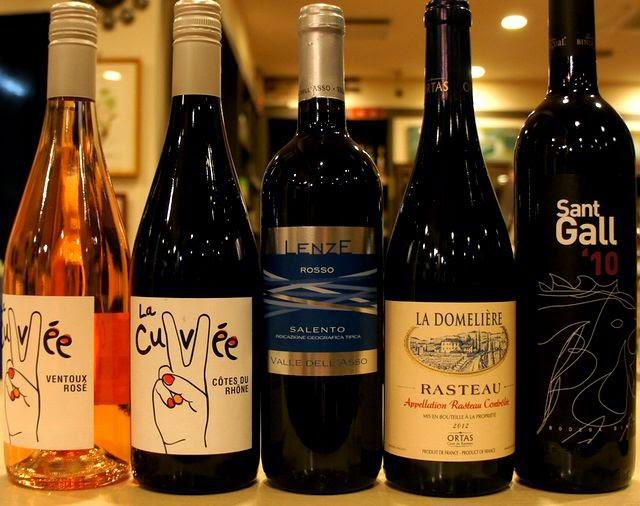 冷やしても美味しい赤ワインがあります