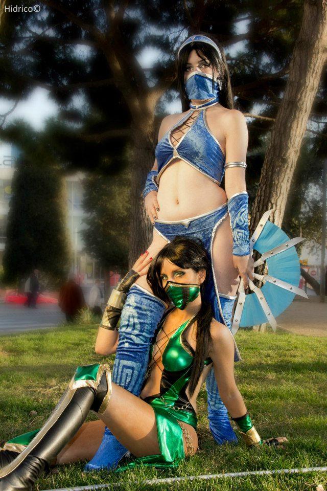 Ngất ngây với cosplay Mortal Kombat nóng bỏng - Ảnh 4