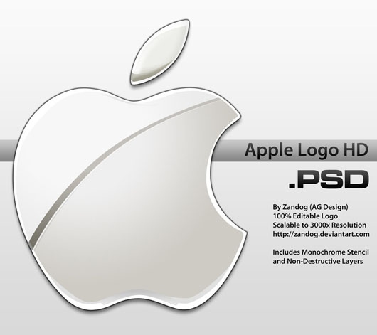 Logo Apple download psd