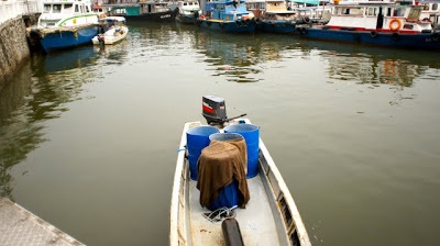 Hire a small boat to go fishing or take a boat ride to Pulau Ubin  for even more physical activities