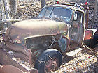 Vintage Parts Vehicle 1950 Chevy 3100 Tow Truck Dual Rear Wheels Winch Crane
