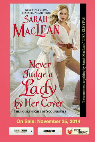 Cover Reveal Of Sarah Macleans Never Judge A Lady By Her Cover