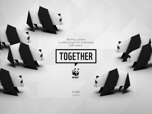 WWF Together Homescreen
