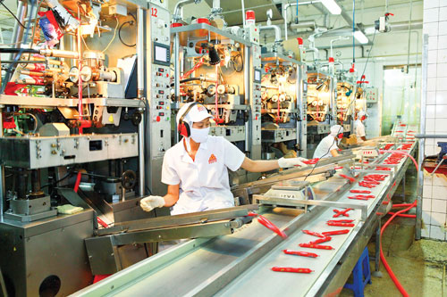 Đơn hàng chế biến thực phẩm xúc xích, thịt nguội cần 6 nam thực tập sịnh làm việc tại Toyama Nhật Bản tháng 02/2017