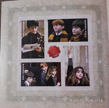 stamps, USA, Harry Potter, Sunday Stamps