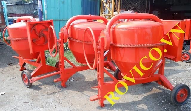 Máy trộn bê tông chuyển giao cho cửa hàng Nguyễn Huy