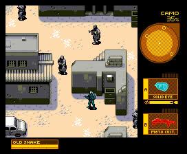 mgs4 Como seriam os games atuais em versões Java para celular