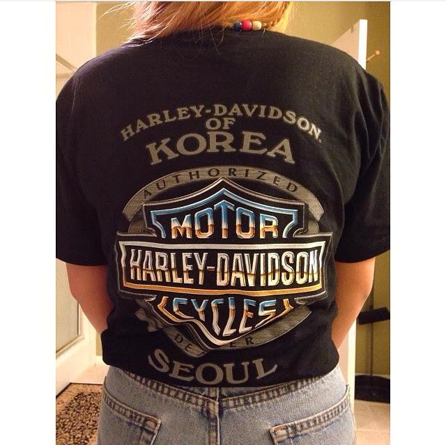 Seoul Harley Davidson T Shirts