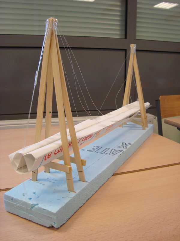 Faire une maquette de pont en carton - Fabriquer un pont en bois ...