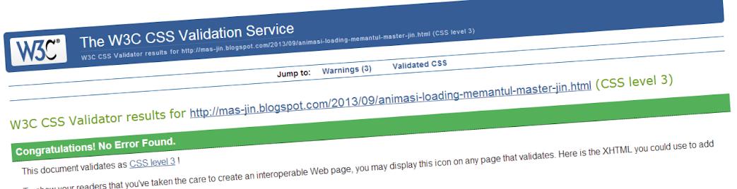 Cara Membuat Blog Lebih Valid CSS3