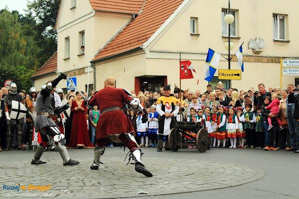 Turniej o tytuł wybawcy w dniu Jarmarku Cysterskiego w Pelplinie