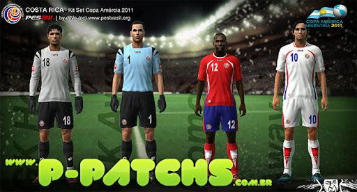 Argentina Kitset - Copa América 2011 para PES 2011 PES 2011 download P-Patchs