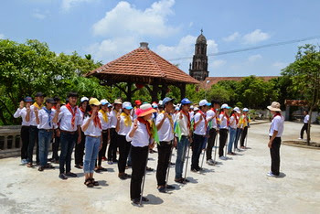 Giáo xứ Nam Biên - Hành trình sa mạc khóa huấn luyện huynh trưởng cấp II