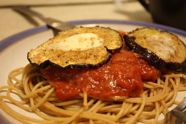 Eggplant Parmigano
